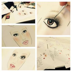 FACECHART PAINTINGS